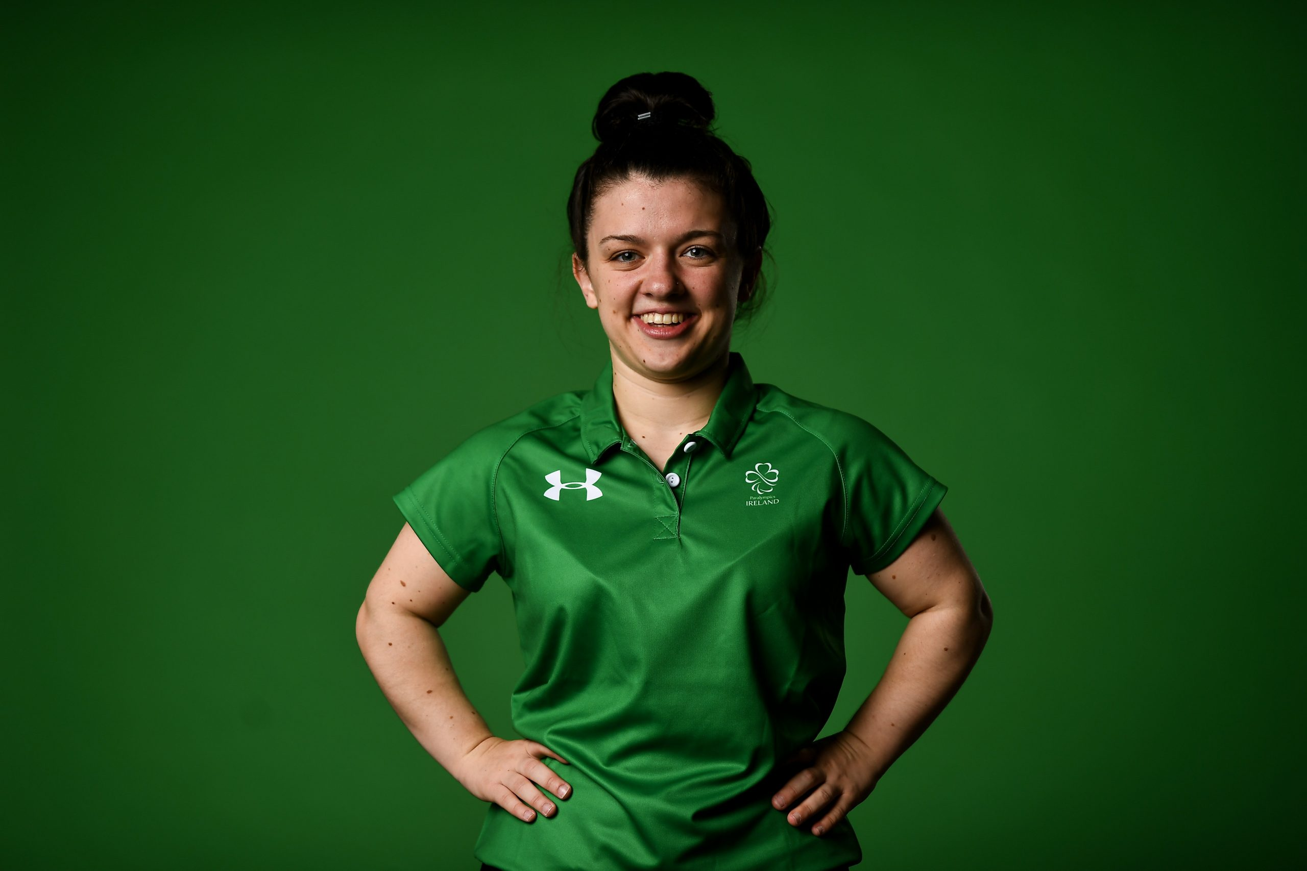 22 July 2021; Swimmer Nicole Turner during a Tokyo 2020 Paralympic Games Team Announcement at Abbotstown in Dublin. Photo by David Fitzgerald/Sportsfile *** NO REPRODUCTION FEE ***